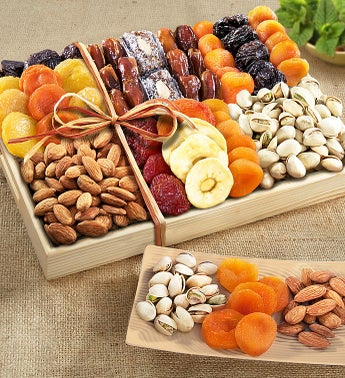 Fruitful Harvest Sympathy Fruit  Nut Crate