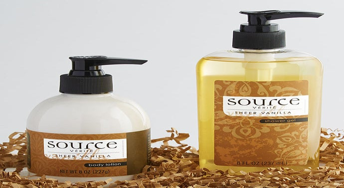 Source Verite Sheer Vanilla Spa Set