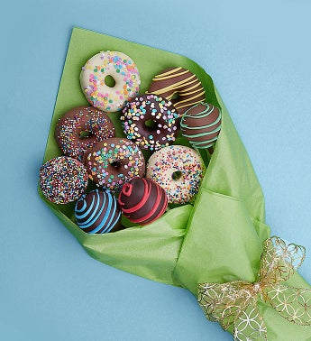 Birthday Chocolate Donut & Cake Pop Bouquet