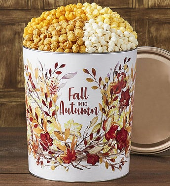 Popcorn Factory Fall into Autumn 35G 4-Flavor Tin