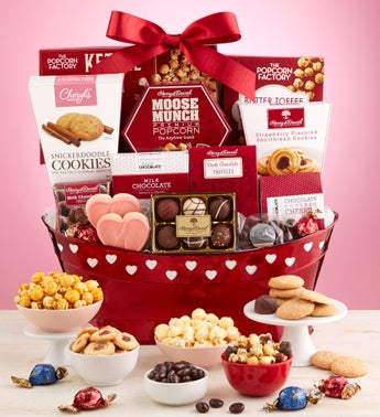True Love Valentine Gift Basket