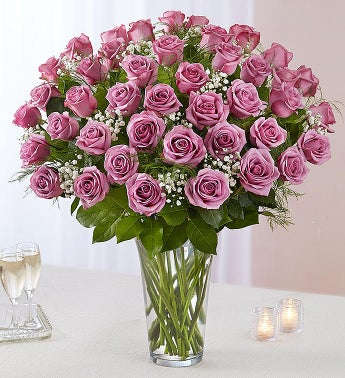 Ultimate Elegance Long Stem Lavender Roses