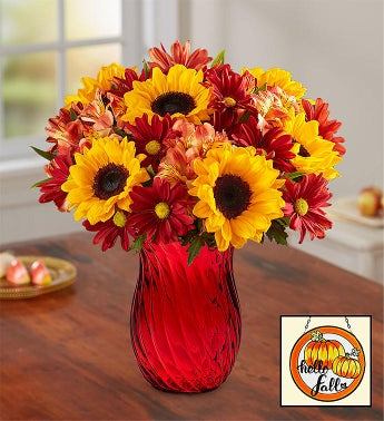 Sunny Bouquet for Fall