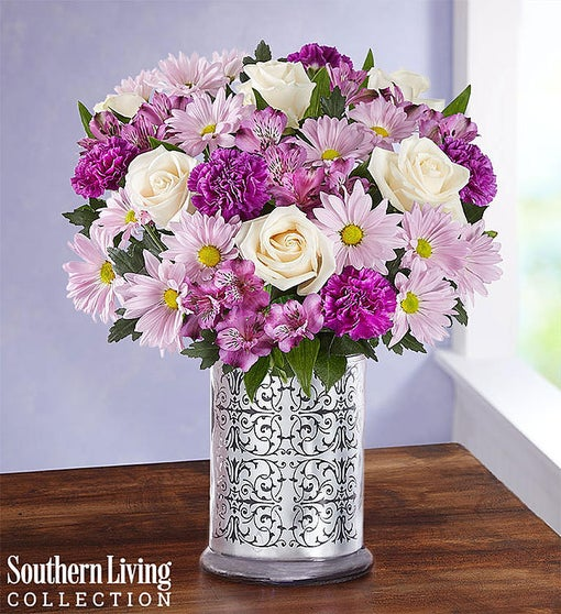 Lavender Garden Bouquet by Southern Living®