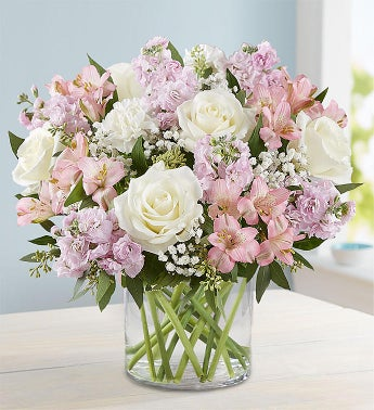 Elegant Blush Bouquet  Free Shipping