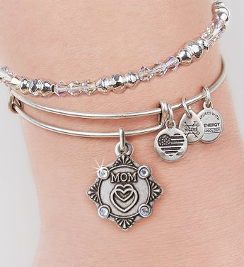 Alex  Ani Because I love You Mom Bangle
