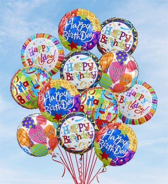 Air-Rangement - Birthday Mylar Balloons