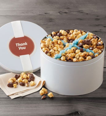 Thank You Moose Munch174 Premium Popcorn Tin