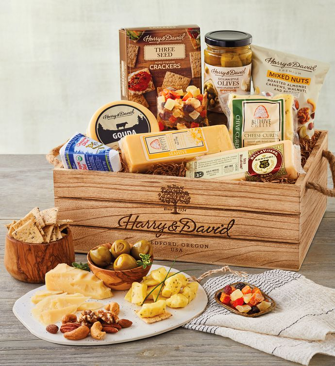Deluxe Cheese Crate