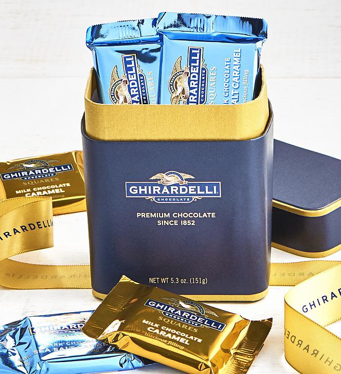 Ghirardelli Signature Chocolate Squares Box pc