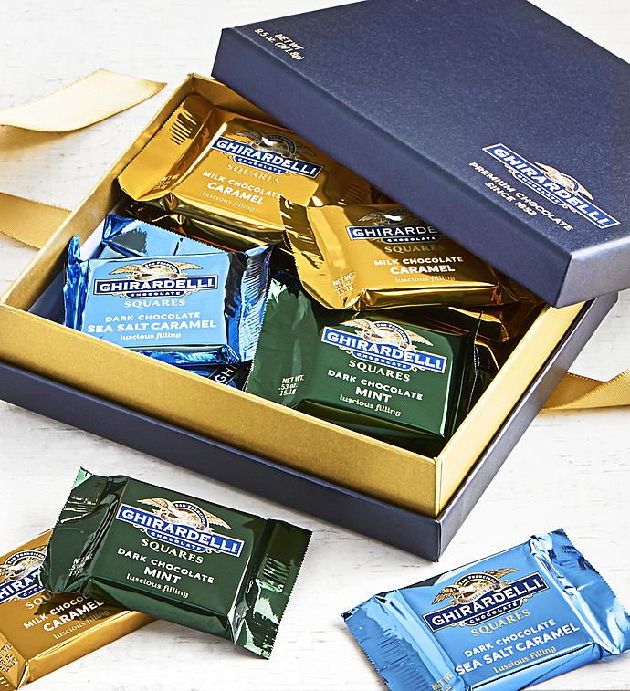 Ghirardelli Signature Chocolate Squares Box pc