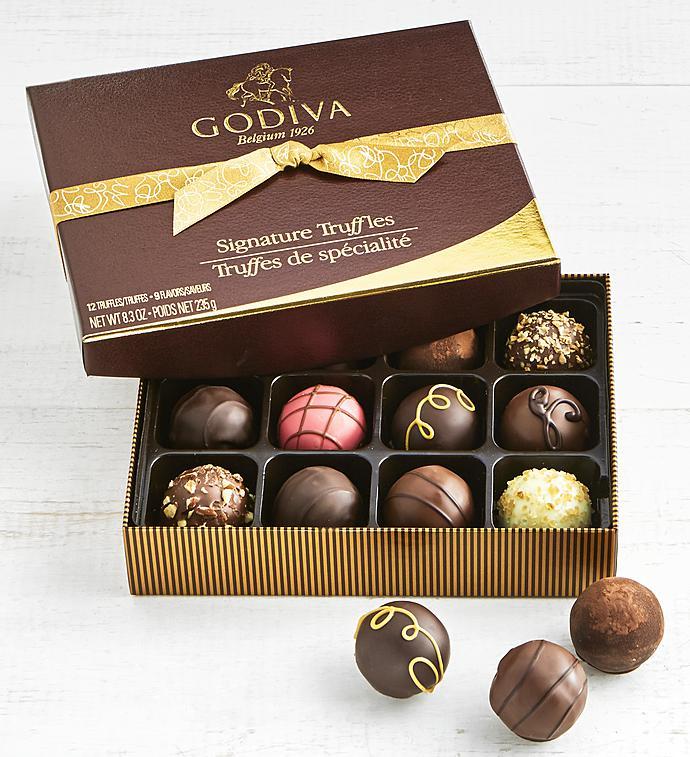 Godiva Signature Truffles Box   Piece