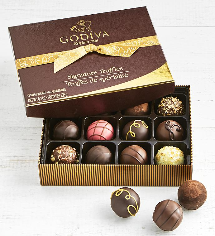 Godiva Signature Truffles Box   Piece
