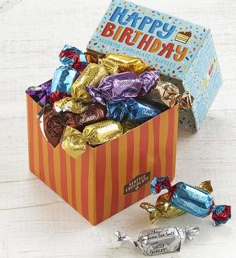 Seattle Chocolates Happy Birthday Truffles Box
