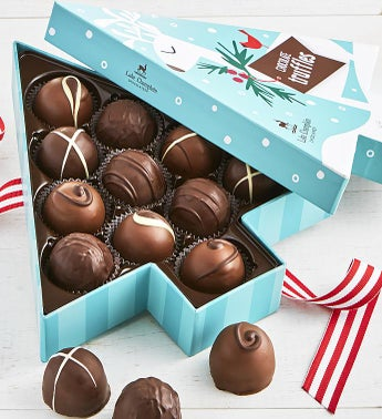 Lake Champlain Spruce Tree Truffles Box