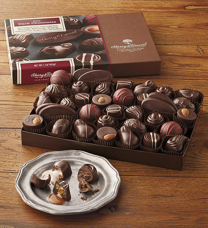 Harry  David All Dark Assorted Chocolates ct