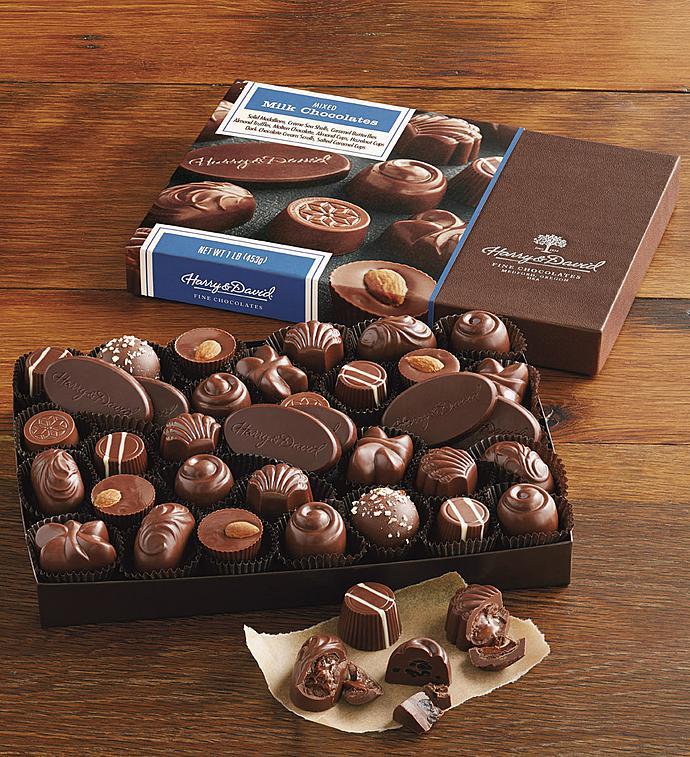 Harry  David All Milk Assorted Chocolates ct