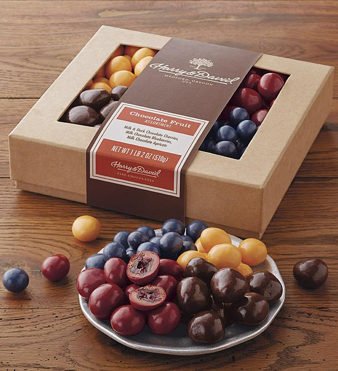 Harry  David Chocolate Covered Fruits Box