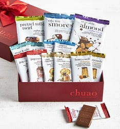 Chuao Deluxe Artisan Chocolate Bar  Pc Gift Box
