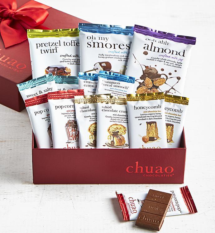 Chuao Deluxe Artisan Chocolate Bar  Pc Gift Box