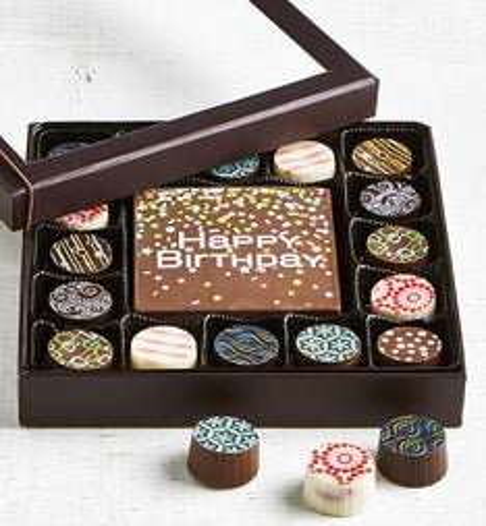 Simply Chocolate Birthday Bar  Truffles