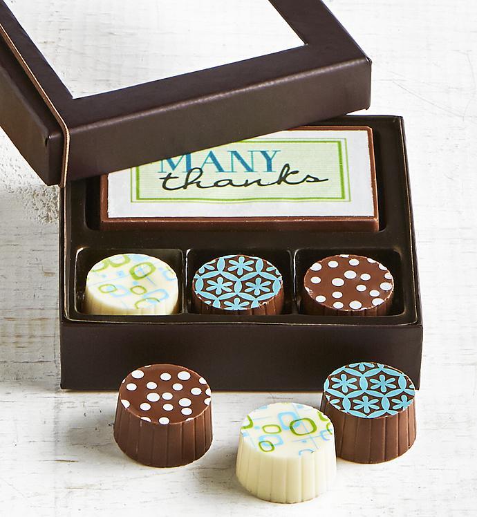 Simply Chocolate Thank You Bar  Truffles  pc