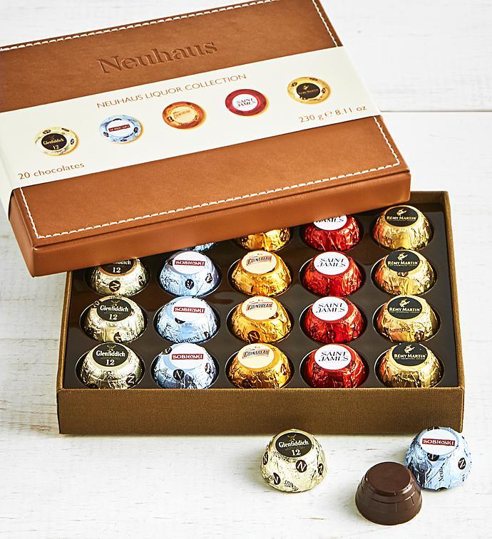 Neuhaus Belgian Liquor Chocolates  pc Box
