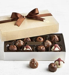 The Sweet Shop 10 pc Fudge Love Truffle Box