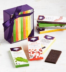Vosges Exotic Mini Chocolate Bar Library  Bar Box