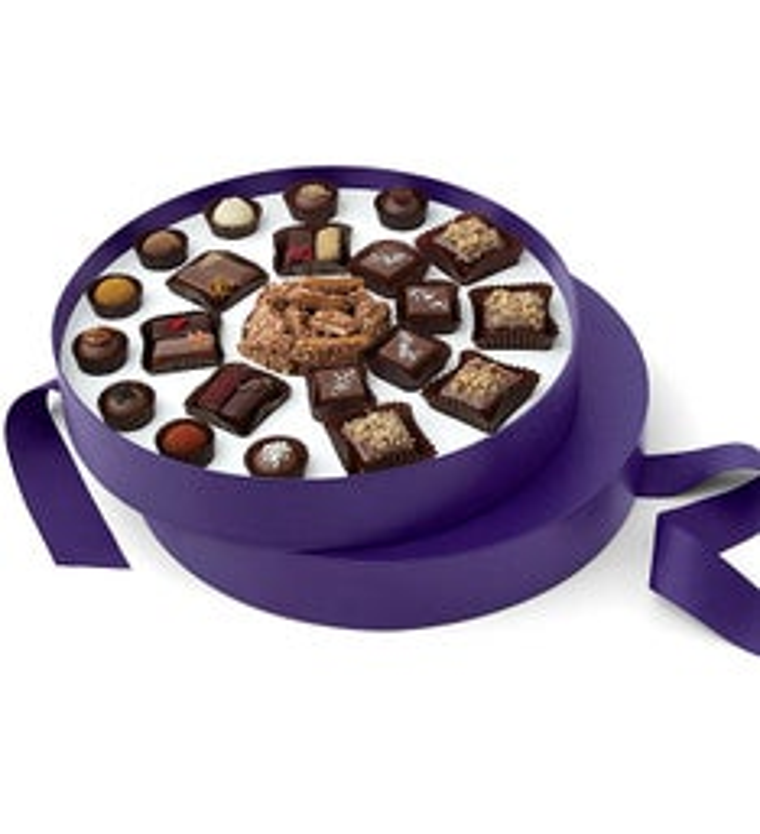 Vosges Petite Ensemble du Chocolat Round Gift Box