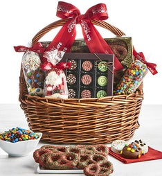 Simply Chocolate Holiday Gathering Basket