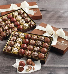 Harry and David Signature Chocolate Truffles  LB