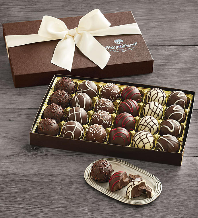 Harry and David Signature Chocolate Truffles