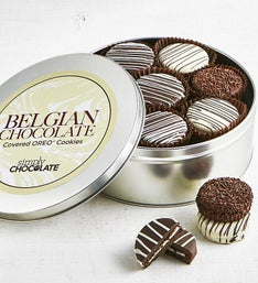 Simply Chocolate Belgian Chocolate OREO® Tin
