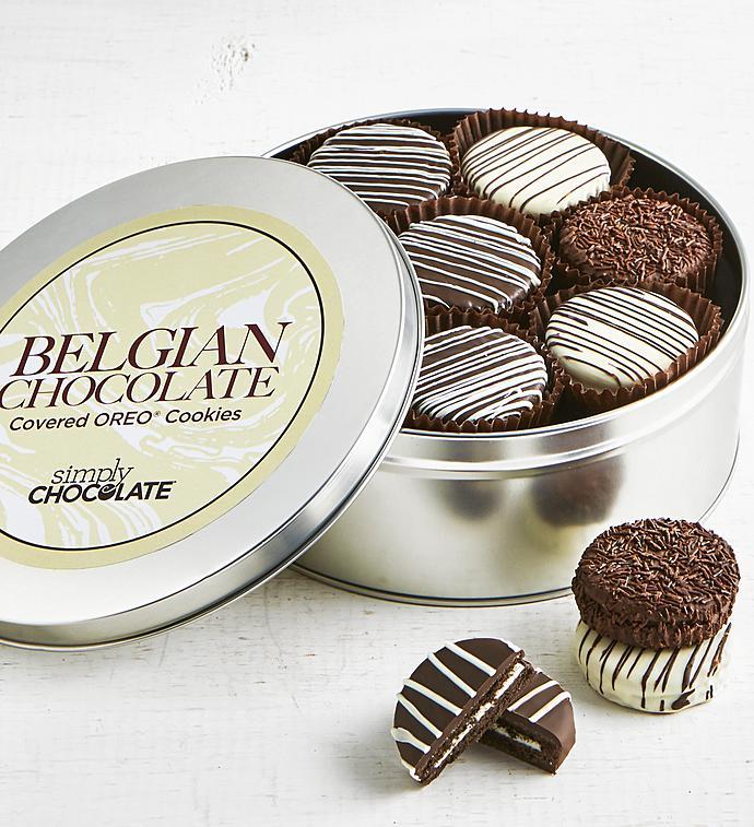 Simply Chocolate Belgian Chocolate OREO Tin