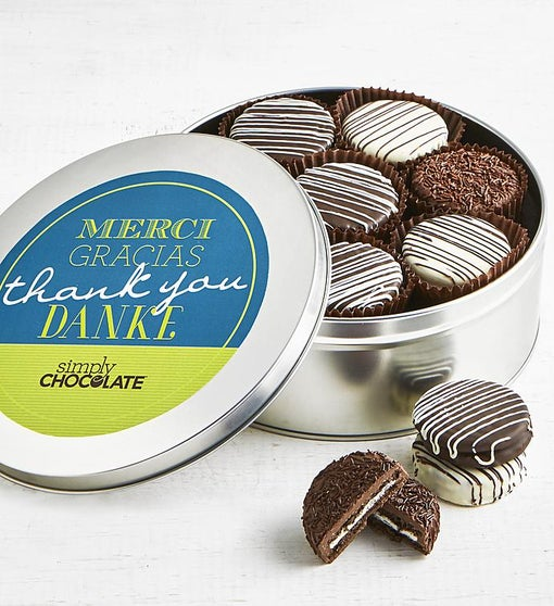 Simply Chocolate Thank You! OREO® Tin