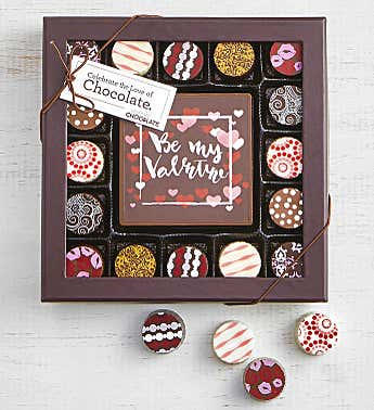 Simply Chocolate Valentine's Bar and Truffles