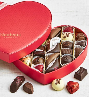 Neuhaus Infinite Love 27pc Heart Box