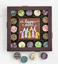 Simply Chocolate Happy Easter Bar  Truffles pc