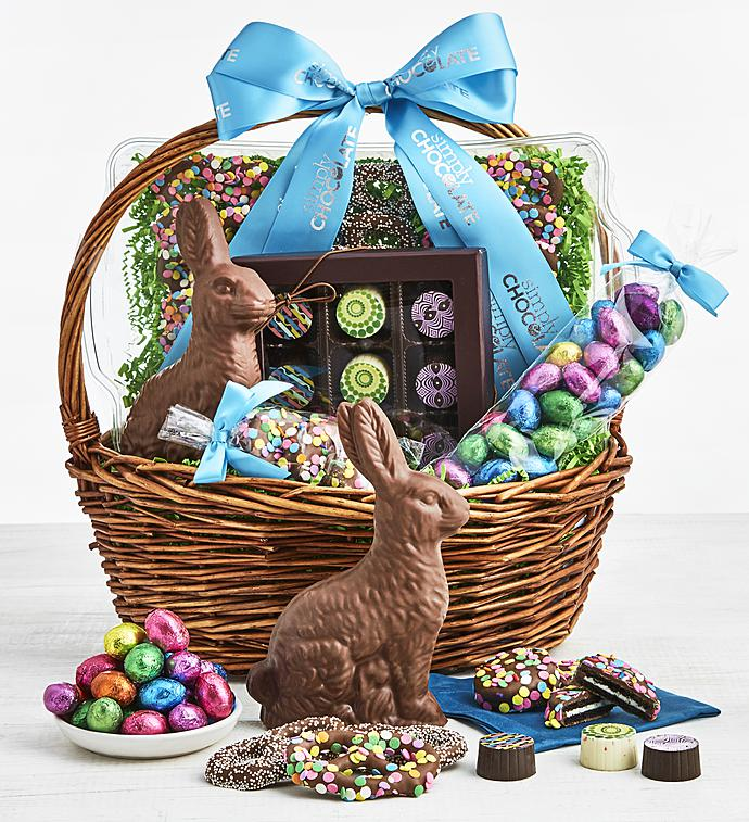 Simply chocolate easter eggstravaganza basket simplychocolate simply chocolate easter eggstravaganza basket negle Image collections