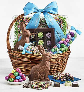 Simply Chocolate Easter Eggstravaganza Basket