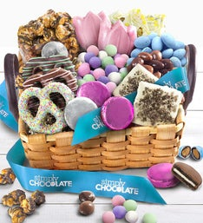 Simply Chocolate Celebrate Spring Gift Basket