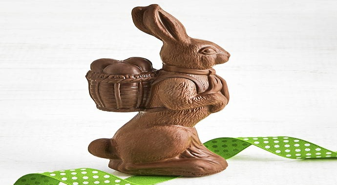 Long Grove Confectionery Giant Chocolate Bunny