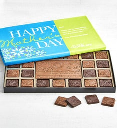 Simply Chocolate Mother's Day Personalized  Box