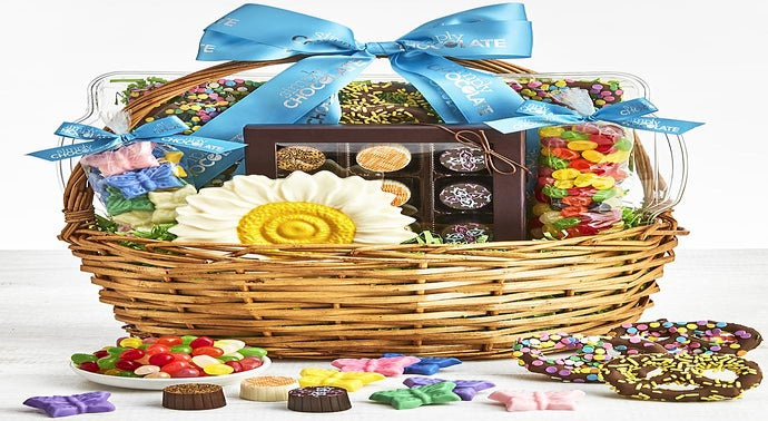 Simply Chocolate Spring Celebrations Gift Basket
