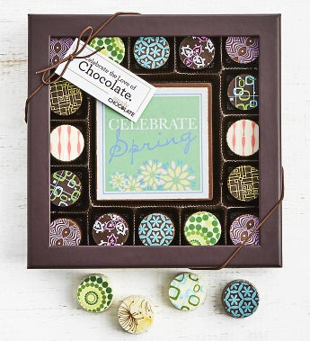 Simply Chocolate Spring Bar & Truffles 17pc