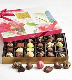Godiva 32pc Limited Edition Spring Chocolates Box