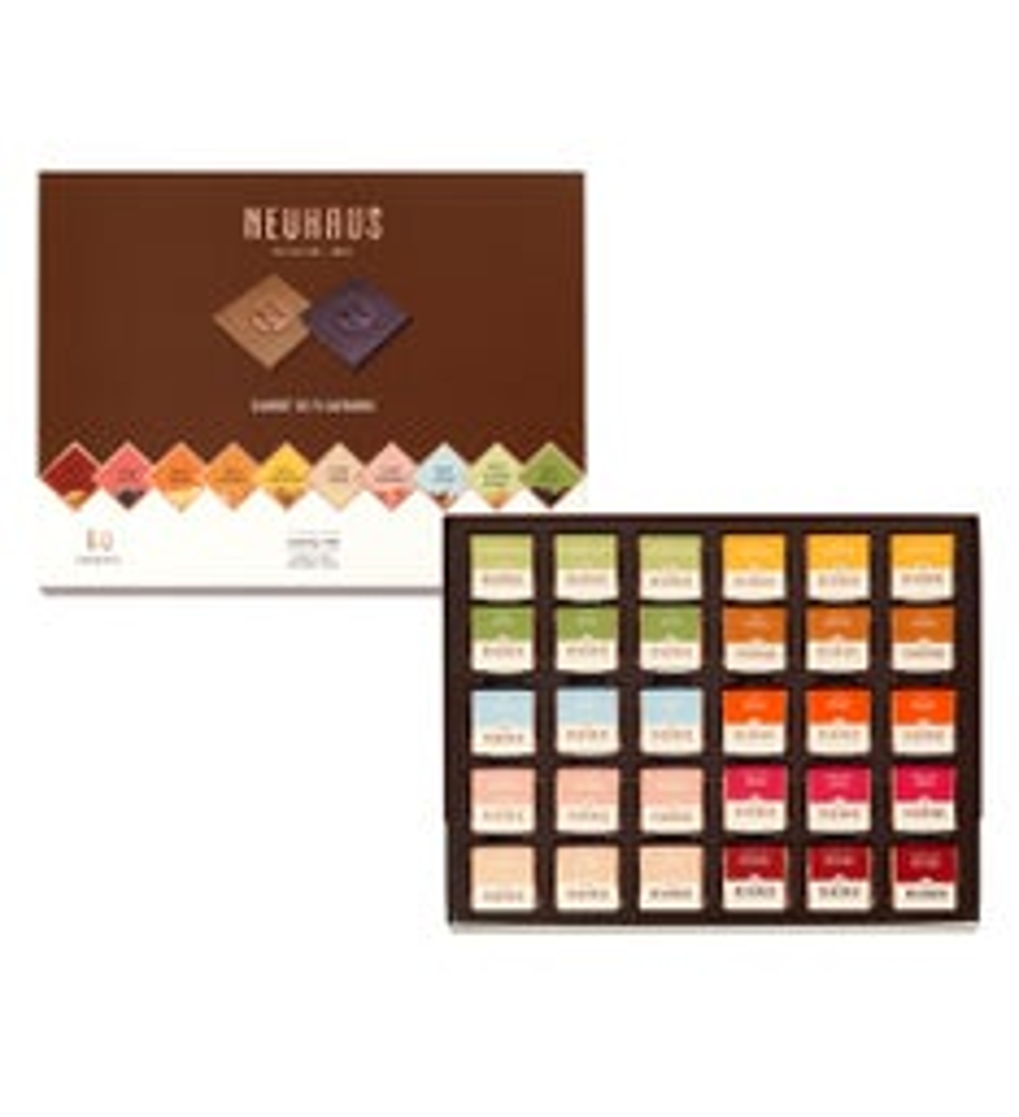 Neuhaus  Flavor Belgian Chocolate Squares Gift