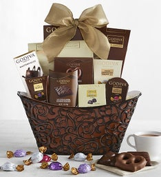 Godiva Dreaming Of Chocolate Gift Basket