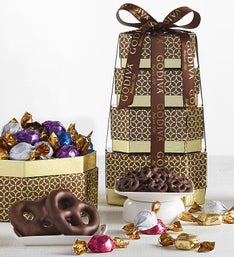 Godiva Prestige Chocolate  Sweets Tower